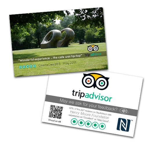TripAdvisor ShowCard for Henry Moore Sculpture attraction