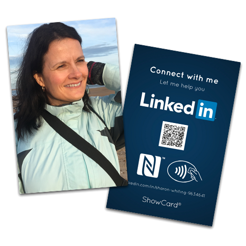 Sharon Whiting - Contactless LinkedIn ShowCard