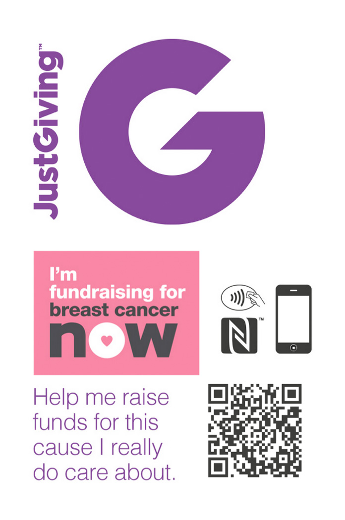 Raise money for a good cause with a ShowCard - Just Giving